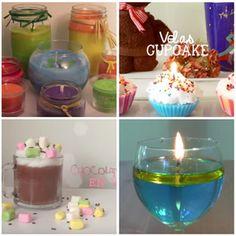 Con cera, sin cera, con aceite, con formas creativas... ¡Aprende a elaborar tus propias velas caseras!