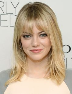 I really like this for you @dorothywulff  Emma Stone hair