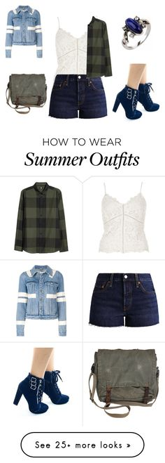 """""""Summer outfit 47"""" by adelineojeda on Polyvore featuring River Island, Levi's and Givenchy"""