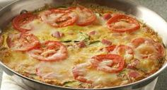 Italian Herb Frittata: A frittata is a very versatile recipe. You can serve it at any meal and you can also vary the meat, vegetables, cheese and seasonings.