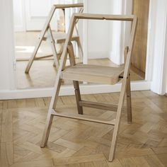 STEP MINI STEP STOOL - Designer Library ladders from Design House Stockholm ✓ all information ✓ high-resolution images ✓ CADs ✓ catalogues ✓. Folding Furniture, Folding Chair, Furniture Design, Design House Stockholm, Kitchen Ornaments, Wooden Steps, Living Room Flooring, Patio Table, Ladder Decor