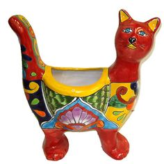 Talavera cat for my kitchen! Meow. #talavera