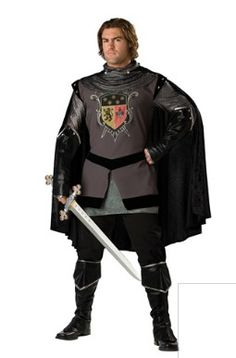 Renaissance Knight Costume from Spirit Halloween.   Battle fire-breathing dragons, save damsels in distress or embark upon a crusade in this Renaissance Knight Adult Men's Deluxe costume! So realistic, you will lose yourself in your role.  Get your rebate from RebateGiant.