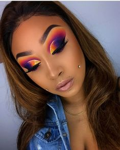 Gorgeous Makeup: Tips and Tricks With Eye Makeup and Eyeshadow – Makeup Design Ideas Makeup Eye Looks, Cute Makeup, Glam Makeup, Gorgeous Makeup, Pretty Makeup, Eyeshadow Makeup, Makeup Geek, Cut Crease Eyeshadow, Silver Eyeshadow