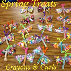 These were an Easter gift for my class, but would be perfect as a Spring Treat!