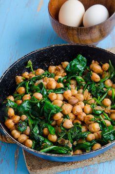 Tasty, Yummy Food, Black Eyed Peas, Chana Masala, Clean Eating, Deserts, Beans, Brunch, Healthy Recipes