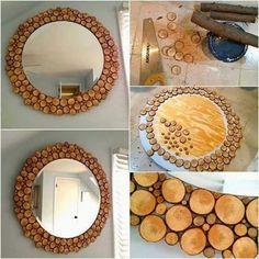55 En Iyi Ayna Süsleme Görüntüsü Diy Ideas For Home Homemade Ve