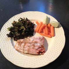 Mystery Lovers' Kitchen: Roasted Coconut Kale from Linda Wiken @ErikaChase