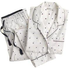 Crew Vintage short-sleeve pajama set in split dot Kids Nightwear, Cute Sleepwear, Cotton Sleepwear, Cotton Pjs, A Line Skirt Outfits, Cool Outfits, Fashion Outfits, Cute Pajama Sets, Cute Pajamas