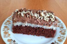Čokoládovo-kokosový zákusok s parížskou šľahačkou - recept | Varecha.sk Graham Crackers, Cake, Treats, Sweet, Sweet Like Candy, Candy, Goodies, Kuchen, Torte