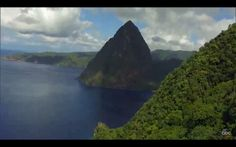 A majestic Piton, St Lucia After The Final Rose, Travel To Fiji, Places To Travel, Places To Visit, Tourist Board, Win A Trip, Just Dream, Travel Goals, Dream Vacations