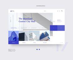 Conceptual Landing Pages 2018 - Web Design on Behance