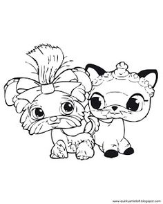 Littlest Pet Shop - Free Printable Coloring Book
