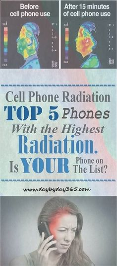 Cell Phone Radiation - Top 5 Phones With the Highest Radiation: Is Your Phone on The List? - Check This Awesome Article !!!