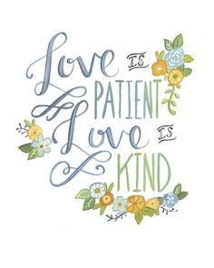 1 Corinthians 13:4~❥