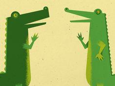 Alligator illustration by Andy DuFort