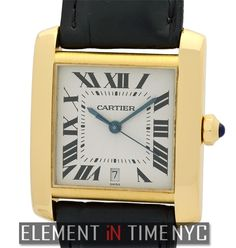 Cartier Tank Collection  Tank Francaise 18k Yellow Gold 28mm  W5000156 - iN Stock ($5,350.00)