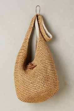 Bags – Handbags, Purses & More Anthropologie – Bags, Clutches & Travel Crochet Handbags, Crochet Purses, Anthropologie, Diy Bags Purses, Unique Bags, Knitted Bags, Fashion Bags, Bag Accessories, Leather Totes