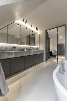 bathroom remodel tips is unquestionably important for your home. Whether you pick the serene bathroom or small laundry room, you will create the best mater bathroom for your own life. Serene Bathroom, White Bathroom, Modern Bathroom, Small Bathroom, Dyi Bathroom, Chic Bathrooms, Dream Bathrooms, Amazing Bathrooms, Luxury Bathrooms