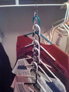 Tiny-Ass Apartment: Hung Up: Doubling your closet space with clever clothes hangers