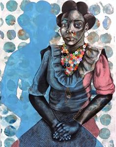 """""""Untitled"""" by Delita Martin African American Artist, African American History, American Artists, African Art, Black History, Art History, Black Female Artists, Black Arts Movement, A Level Art"""