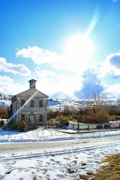 Bannack Ghost town, Montana. Copyright Bethany Hale