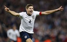 Forward thinking Steven Gerrard focuses on England and the World Cup Stevie G, International Football, Gerrard International, Steven Gerrard, Zinedine Zidane, European Soccer, Fc Chelsea, Vegas Style, Tottenham Hotspur