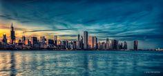 Skyline Chicago by Joerg Piechotka, via 500px