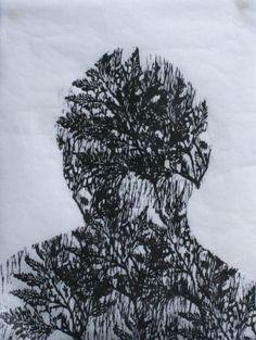 Luciana Bertarelli, Woodcut, 2013