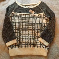 Wool-Like Loft Sweater Wool-Like Ann Taylor Loft sweater. Never worn. Tags attached. Paid full price. Looks and feels just like wool, so if you don't like wool this is NOT for you! SMALL Ann Taylor Sweaters Crew & Scoop Necks