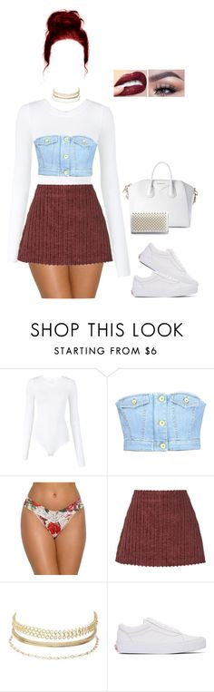 """""""Celebrate Our 10th Polyversary!"""" by missprettyyoungthing95 ❤ liked on Polyvore featuring Wolford, Love Moschino, Hanky Panky, Isa Arfen, Charlotte Russe, Vans, GET LOST, Christian Louboutin, polyversary and contestentry"""