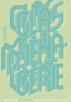 The Glass Menagerie | 2009 – Atelier Bundi