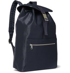 A.P.C. - Cotton-Twill Backpack MR PORTER
