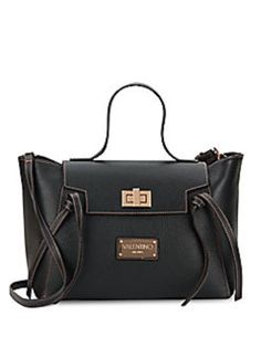 Valentino By Mario Camilla Leather Black Satchel. Save 44% on the Valentino By Mario Camilla Leather Black Satchel! This satchel is a top 10 member favorite on Tradesy. See how much you can save