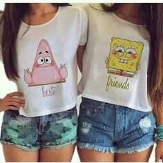 Credits to owners Bestie Shirts Ideas of Bestie Shirts - Bestie Shirts - Ideas of Bestie Shirts - Credits to owners Bestie Shirts Ideas of Bestie Shirts Credits to owners Best Friend T Shirts, Bff Shirts, Shirts For Teens, Cute Shirts, Bff Sweatshirts, Matching Outfits Best Friend, Best Friend Outfits, Best Friend Clothes, Teen Fashion