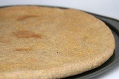 Pizza Dough - Wheat & Cornmeal Pizza Crust from Bob's Red Mill Baking Book