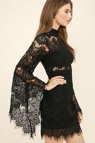 Dress the Population Grace Dress - Silver Sequin Dress - Long Sleeve Sequin Dress - $215.00