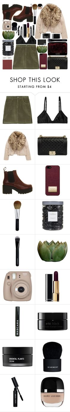 """Untitled #496"" by inkcoherent ❤ liked on Polyvore featuring Monki, Michael Kors, Bare Escentuals, Threshold, Givenchy, Fujifilm, Chanel, arbÅ«, Koh Gen Do and Bobbi Brown Cosmetics"