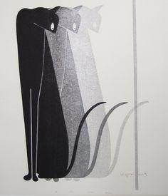 Eye / 目, 1975, Kiyoshi Saito / 斎藤清. Japanese Woodblock Printmaker (1907 - 1997)