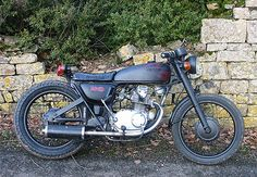 Honda CB125 Rat Bike!!