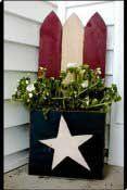 Free Wood Crafts - Americana