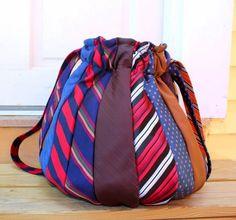 Kατασκευές με παλιές γραβάτες / Crafts with old neckties