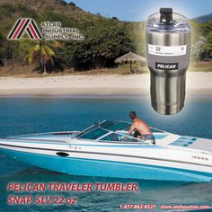 Pelican Traveler Tumbler, Snap, Slv 22 Oz keep it in mind if you are heading to a great trip!!! http://store.aishouston.com/pelican/pelican-traveler-tumblers/traveler-tumbler-snap-slv-220z.html