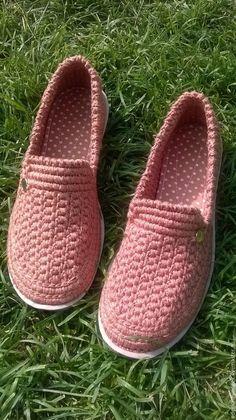 туфельки вязаные хлопковые – купить или заказать в интернет-магазине на Ярмарке Мастеров | Вязаные лёгкие и удобные туфельки -доставят Вам…