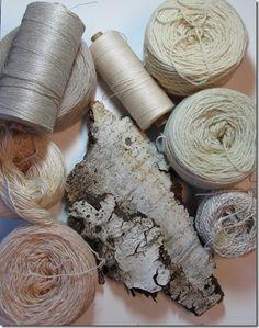 aspen bark palette - různorodost použitého materiálu pro strukturu kůry