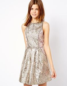 Black fit and flare dress | my Cute URBAN Dress Code | Pinterest ...