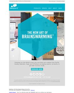 IdeaPaint - Subject line: Download new eBook on Art of Brainswarming