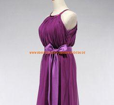 Elegant Lange Abendkleider aus Chiffon mit Schärpe