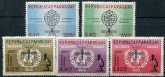 Francobolli . Lotta contro la malaria - Malaria on Stamps Paraguay 1962