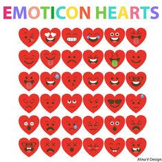 #FebruaryFocused Emoji Clip Art for Valentine's Day | Emoj